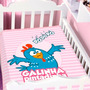 Cobertor Jolitex Infantil Berço Galinha Pintadinha Cantora