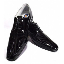 Sapato Social Masculino Em Couro Verniz Legitimo.sapatofran