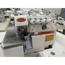 Maq Overlock Industrial 4 Hilos Motor Servo 110 V Econo Luz
