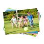 10 Folhas Papel Fotográfico Adesivo Glossy A Prova D