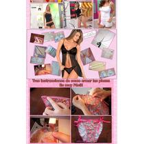 Kit Imprimible Lencería Femenina Pijamas Panties Tangas