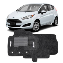 Tapete Carpete Bordado Ford New Fiesta 2015 16 17