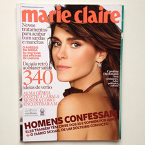 Revista Marie Claire Carolina Dieckmann Ano 2010