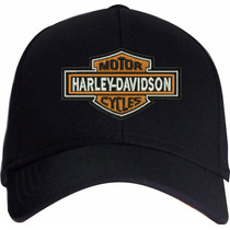 Bone Harley Davidson Bordado