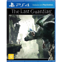 The Last Guardian Ps4 Lacrado Mídia Física Sony Pré Venda