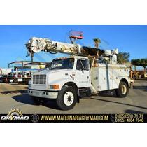 Grua Broca Perforadora Camion International 2001 Gruas Titan
