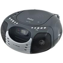 Radio Boombox Preto/cinza Pb119 Cd/cd-r/rw Philco