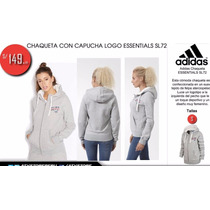 Adidas - Chaqueta Con Capucha Logo Essentials Sl72