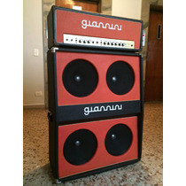 Giannini Tremendão T3 + Caixa 4x12 Fender Twin Reverb
