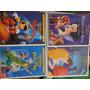 Disney 8 Dvds 1ª Edição Tiragem Cinderela Aladdin Rei Leão