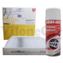 Filtro Ar Condicionado Honda City / New Fit + Higienizador