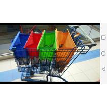 Bolsas Ecologicas Reusables Reciclables Super Durables Color