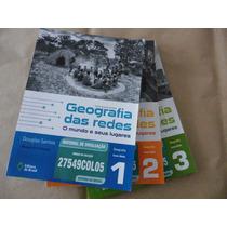 Coleção Geografia Das Redes 3 Volumes Do Professor