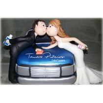 Adornos Para Tortas De Boda Casamiento Porcelana Fria