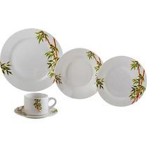 Aparelho De Jantar De Porcelana 20pcs Tropicalis 2135