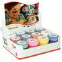Tinta Líquida Facial Com 12 Cores Sortidas - Color Make