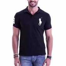 Kit C/ 5 Camisetas Camisas Gola Polo Ralph Lauren