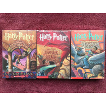 3 Libros De Harry Potter J.k. Rowling