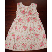 Vestidos De Corderoy Pique Para Nenas Talle 2 4 6 Estampados