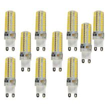 Kit 21 Lâmpada Led Halopim G9 Lustre 5w Bivolt Branco Quente