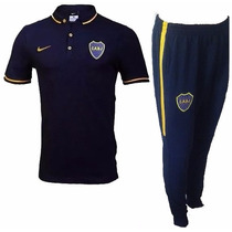 Conjunto Boca Jrs Nike Chomba + Pantalon Chupin Oferta