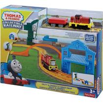 Thomas E Seus Amigos & Friends Pista Ferrovia Salty Cranky