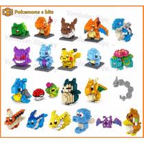 Pokemon 8 Bits Mini Lego 21 Modelos Diferentes - 19,90 Cada