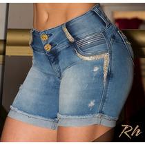 Bermuda Rhero Jeans Meia Coxa