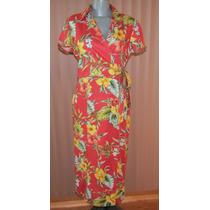 Vestido Hawaiiano Talla Ch-mediana