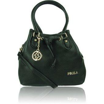 fb3f6d3e1 Bolso Brity Negro-marca Prila - $ 114.800 en Mercado Libre