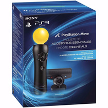 Kit Movie Essentials Move + Camera Ps3 Novo Original Lacrado