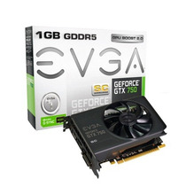 Placa De Video Evga Geforce Gtx 750 128 Bit Cuda Core 512