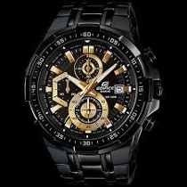 Relógio Casio Edifice Efr-539 Black Original Completo