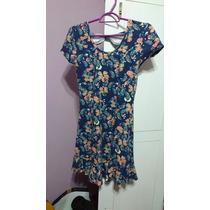 Vestido Borboletas Lola E Maria Tamanho P (usado)