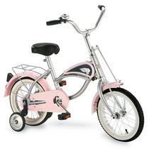 Bicicleta Para Niño Retro Tipo Antiguo De Metal
