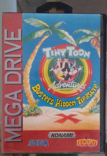 [Análise Retro Game] - TinyToons Adventures Buster's Hidden Treasure - Mega Drive/Genesis S_905310-MLB26380115572_112017-O