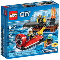 Lego City 60106 Fire Starter Set Nuevo En Stock