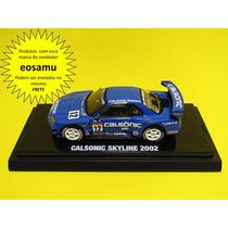 Nissan Skyline Calsonic 2002 Gt-r R34 Beads Kyosho 1/64