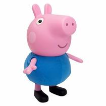 Boneco George Pig Irmão Da Peppa Pig Original Multibrink