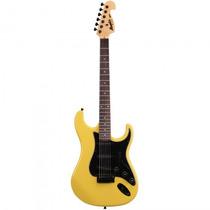 Guitarra Memphis Mg-32 An Stratocaster Amarela - Refinado