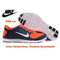 Gomas Nike Free Run 4.0 ¡originales! 41 A 44 #somostienda