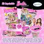 Kit Imprimible Barbie Fashionista Tarjetas Invitaciones 7