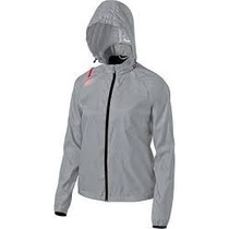 Rompevientos Asics Impermeable Hombre Running Con Luz