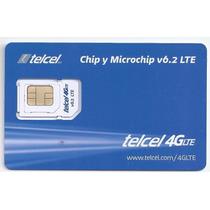 Chip Telcel 4g Lte V6.2 Oferta Mayoreo Solo Region 7 Nuevo