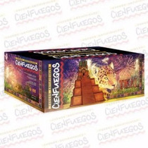 Torta Pirotecnia Tikal El Gran Jaguar Fuegos Artificiales