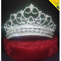Corona Tiara Xv Años Boda Reina Princesa Envío Gratis