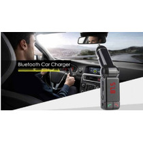 Kit Mp3 Com Viva Voz Atende Ligações Via Bluetooth Usb Carro
