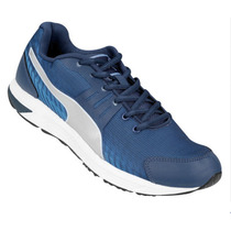 Zapatillas Puma Running Sequence V2 Adp Azul/plata