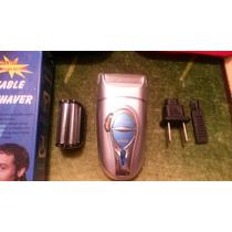 Maquina Afeitar Cara Barba Rebajar Recargable Portatil Util