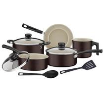 Set Bateria Cocina Juego Ollas Sarten Tramontina Versalhes 5